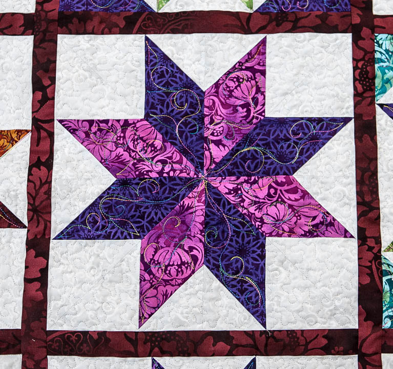 swirl-star-pattern-quilt-design-detail