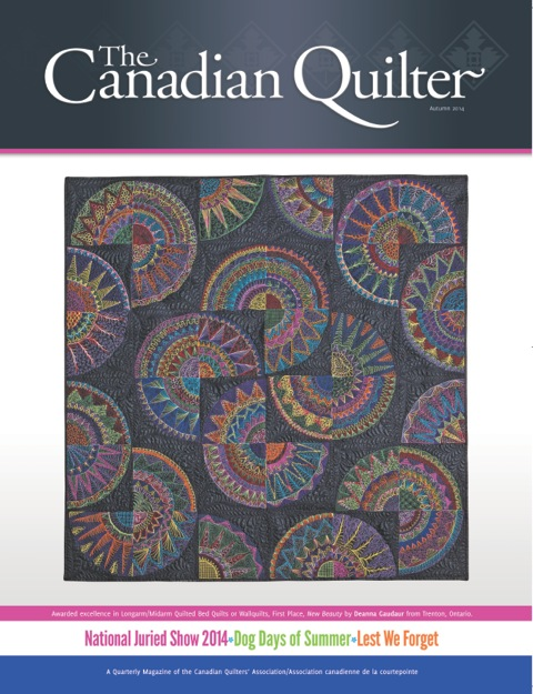 Canadian Quilter magazine cover