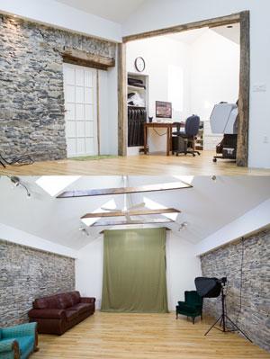 portrait studio and office