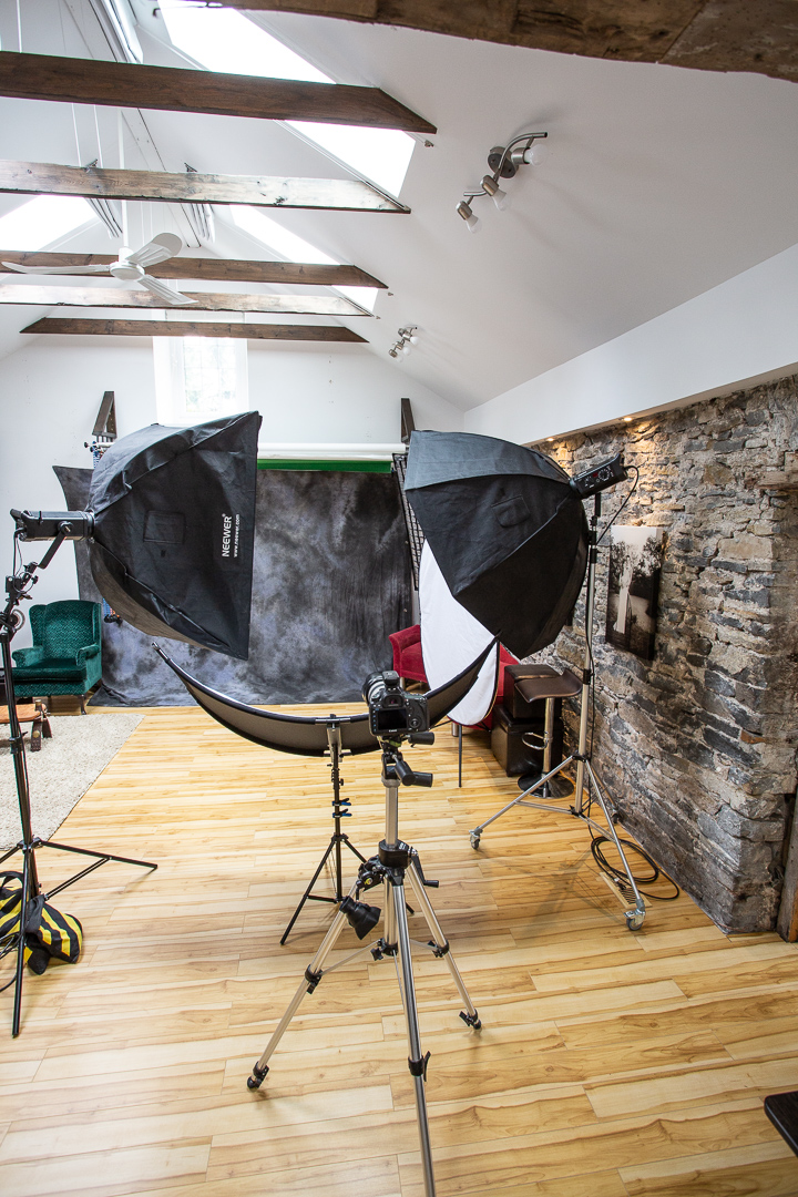 portrait studio lighting equipment